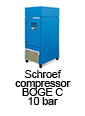 schroefcompressor BOGE C tot 22 kw - 10 bar