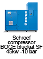 Schroefcompressor BOGE bluekat SF 45kw - 10 bar