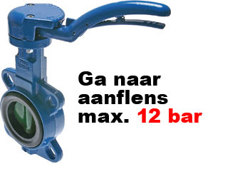 aanflens max 12 bar